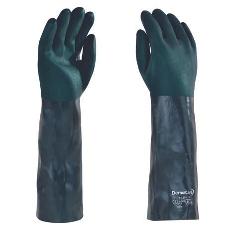 Guante-verde-con-doble-inmersion-de-PVC-18-pulgadas