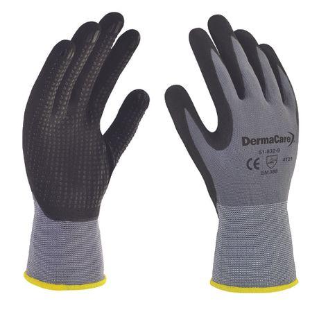 guantes de nylon con palma de nitrilo