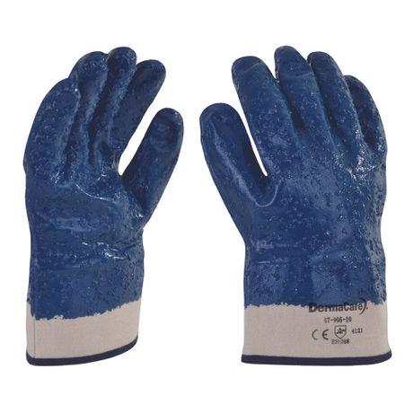 guantes de algodon con nitrilo