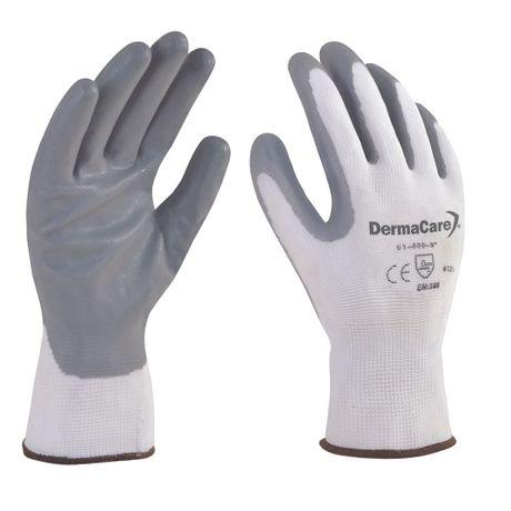 guante nylon blanco