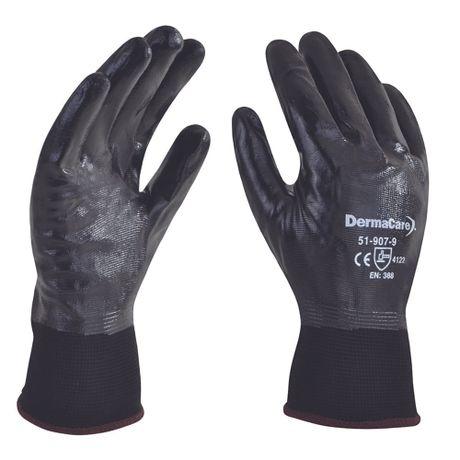 guante nylon negro