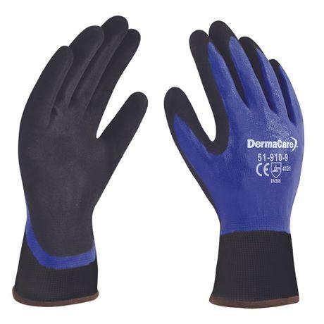 guantes de nylon recubiertos de nitrilo