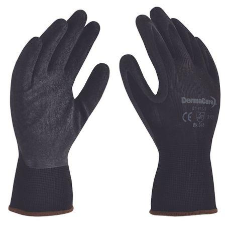 guantes nylon latex