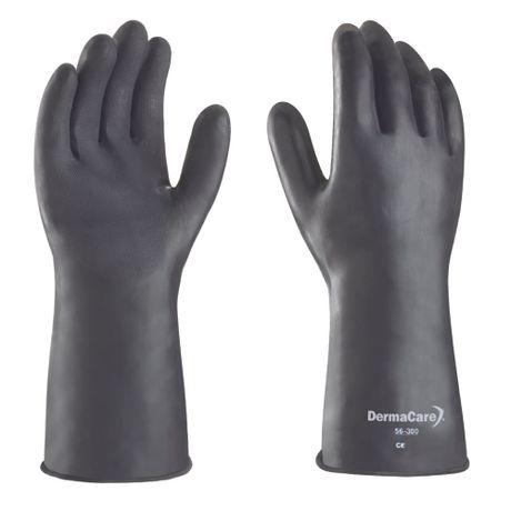 guante negro de latex