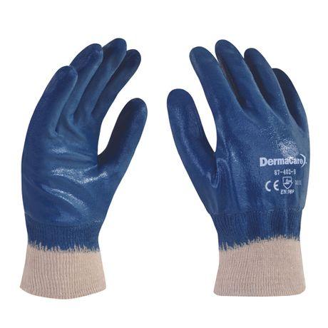 guantes de algodon recubiertos con nitrilo