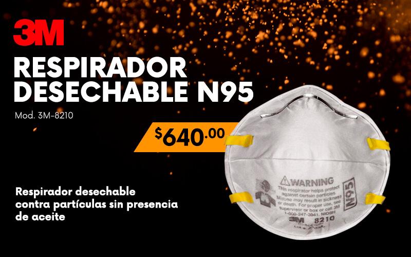respirador desechable n95