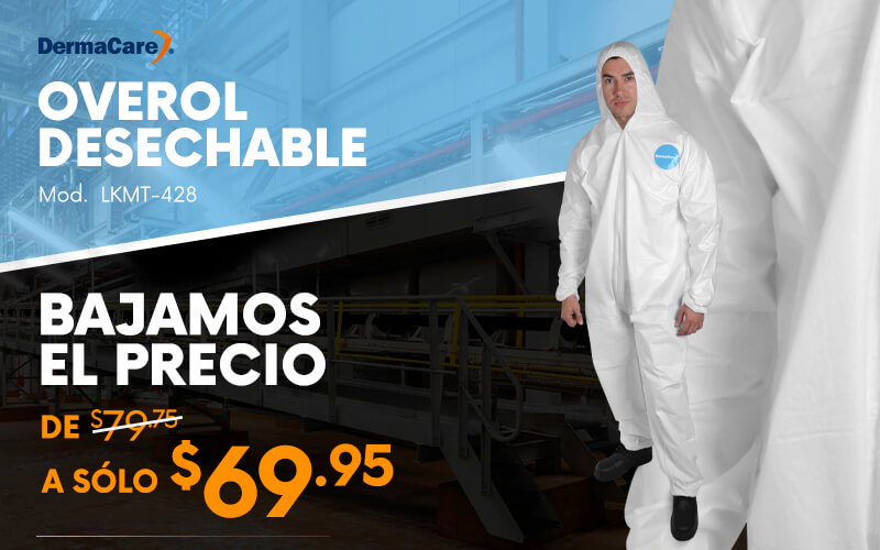 overol desechable